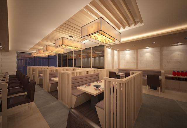 Báo giá thiết kế không gian nhà hàng ăn uống dịch vụ đa dạng