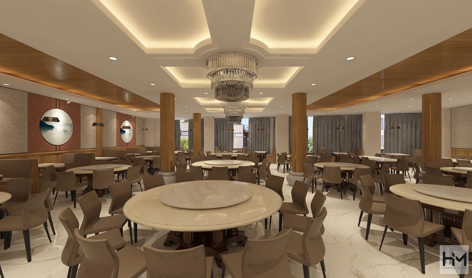 Thiết kế nhà hàng Lẩu cá Thuận Kiều