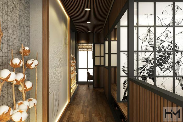 Thiết kế nhà hàng Sushi Nhật