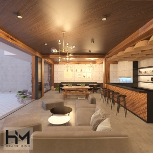 Thiết kế quán cafe Đồng Nai