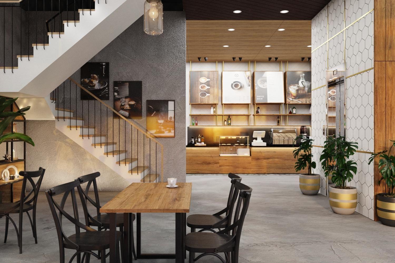 Thiết kế Quán Cafe Bình Chánh
