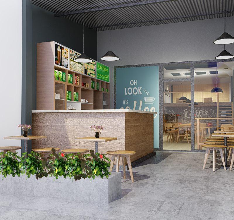 Thiết kế Quán Cafe Shangri-La