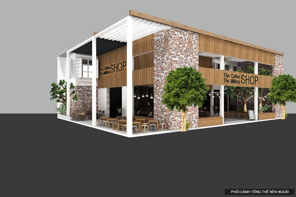 Thiết kế quán cafe SHOP