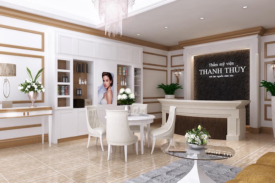 Đơn vị thiết kế nội thất thẩm mỹ viện sang trọng