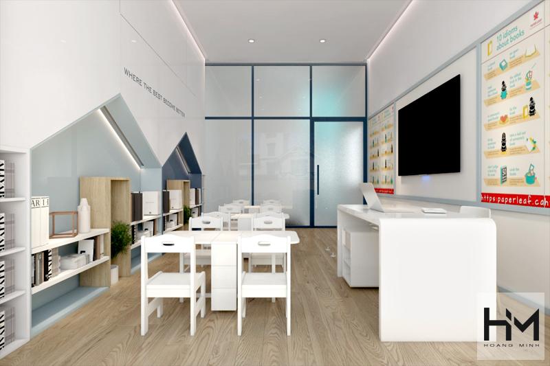 Thiết kế nội thất trường anh ngữ AXON