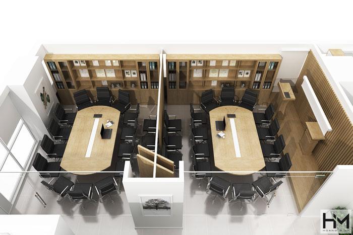 Công ty thi công nội thất văn phòng xu hướng 2021