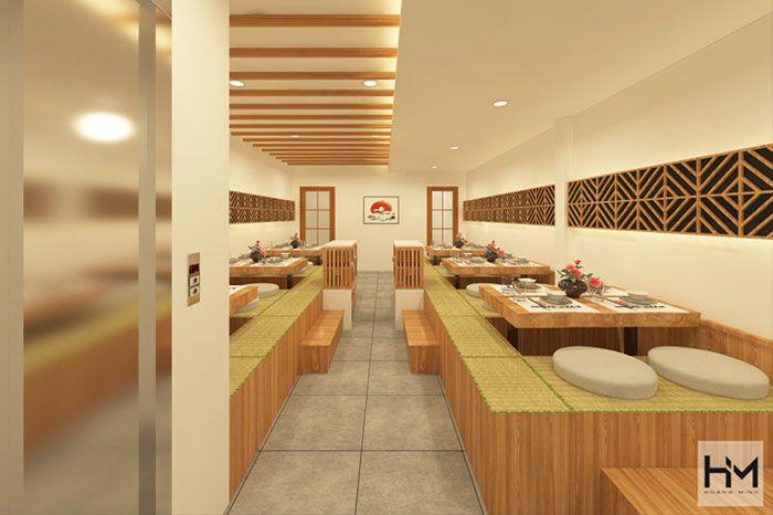 Thiết Kế nhà hàng Nhật Quận 1