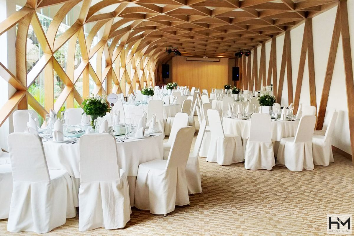 Xu hướng Thiết kế và thi công không gian nhà hàng tiệc cưới