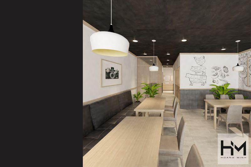 Thiết kế quán Lẩu Xiên Que