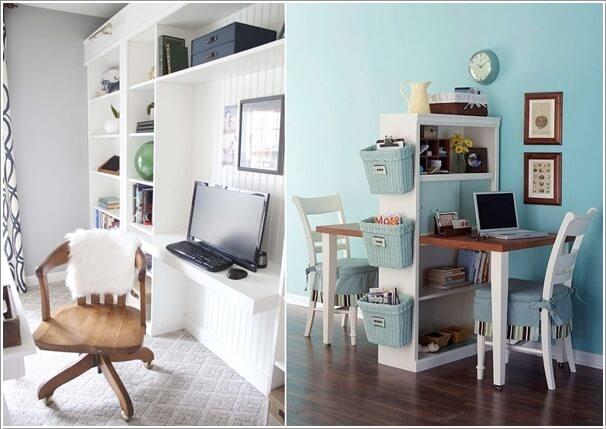 mẫu thiết kế văn phòng tại nhà