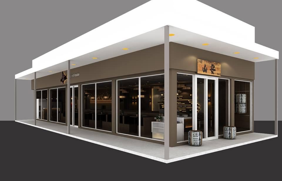 Thiết kế nhà hàng KOI