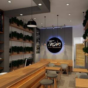 Thiết kế nhà hàng Noodle Bar