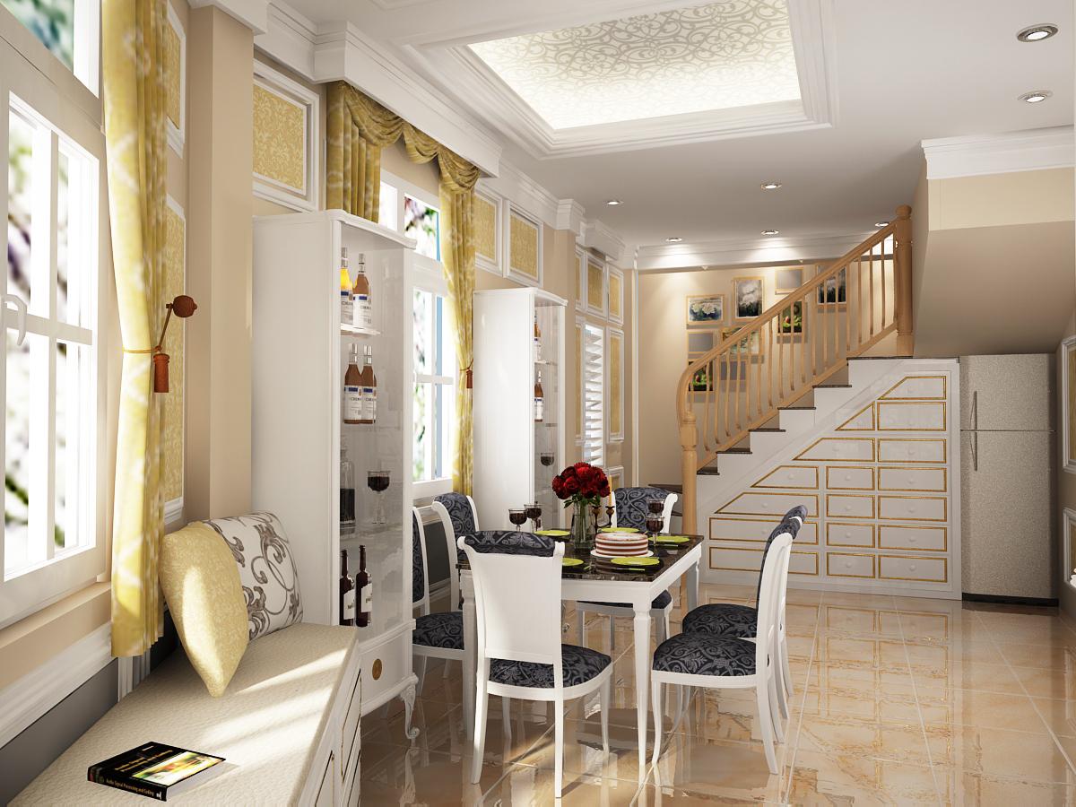 Thi công nội thất căn hộ chung cư thu hút khách