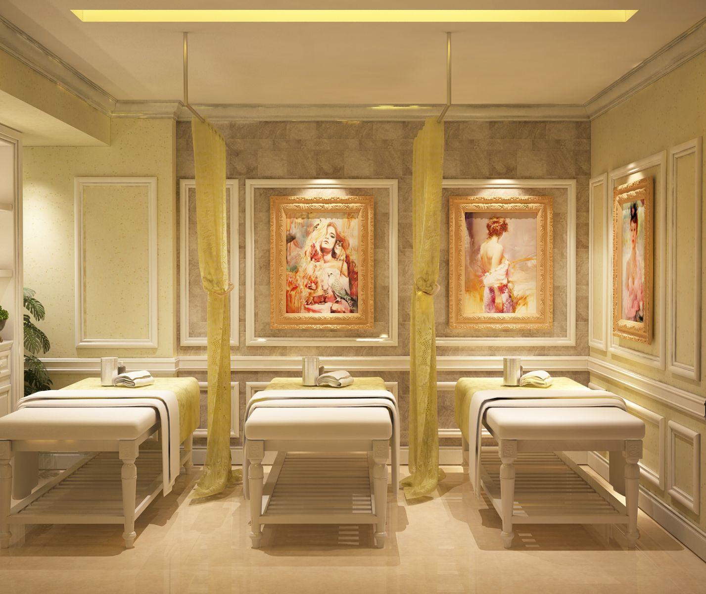 Phong cách thiết kế nội thất spa