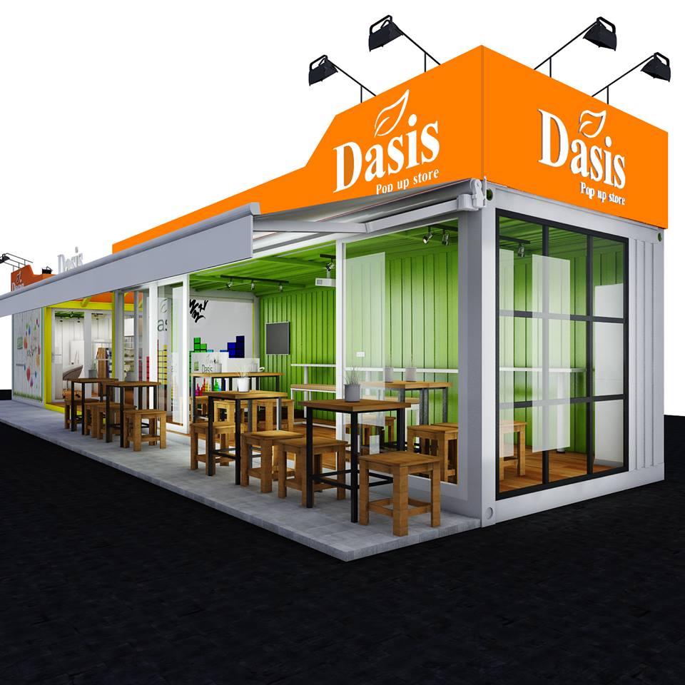 quán Cafe Container DASIS