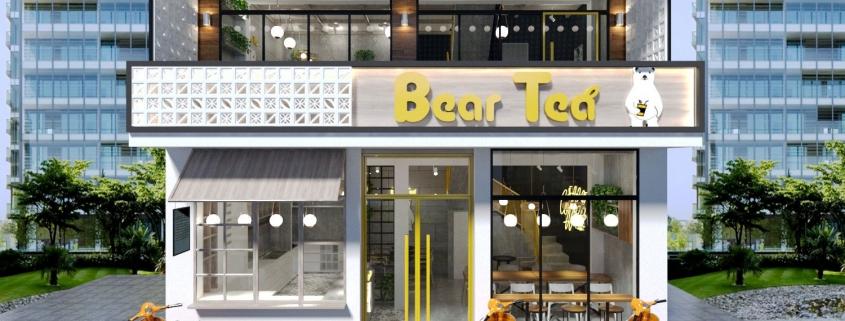 quán cafe Bear Tea