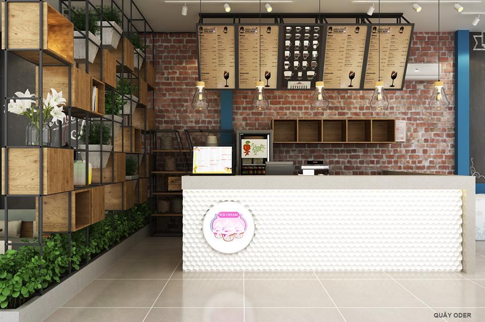 Không gian quán cafe Enjoy