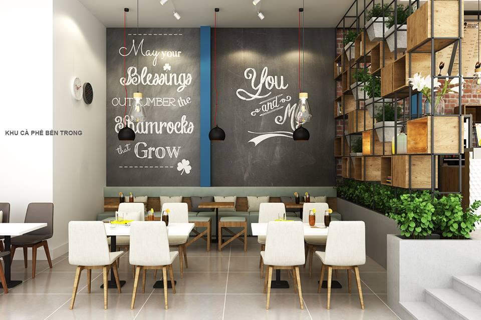 Thiết kế quán cafe Enjoy