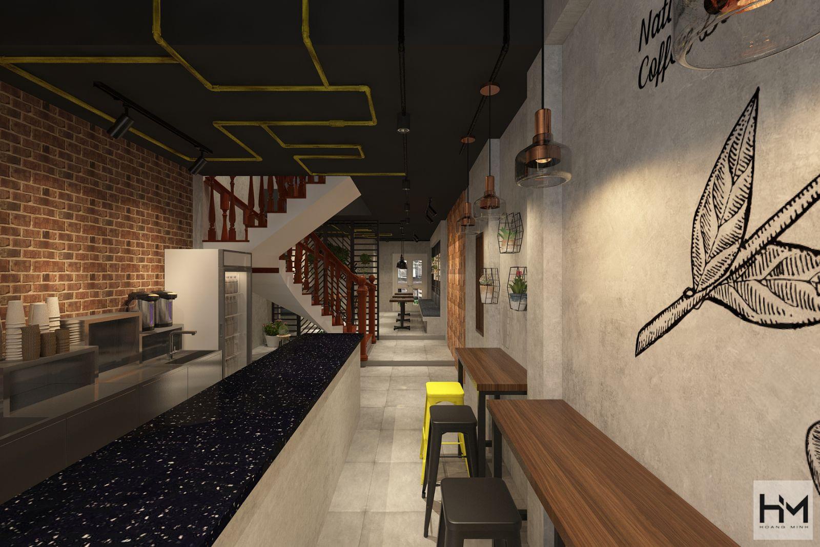 Thiết kế quán cafe YUMME