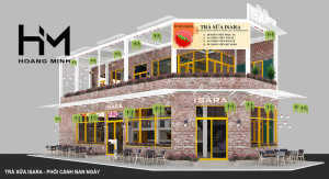 quán trà sữa ISARA