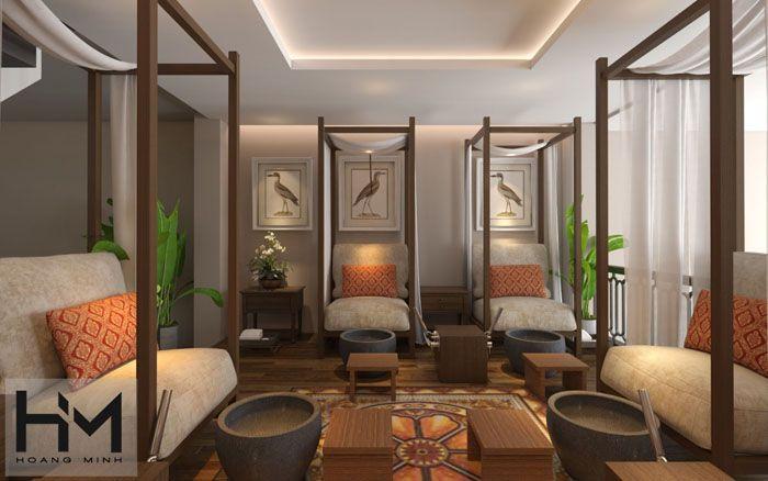 Thiết kế Spa Thái Sawadeeka