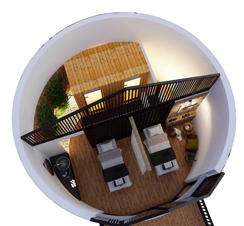 Thiết kế Spa Vaniza Resort Phú Quốc