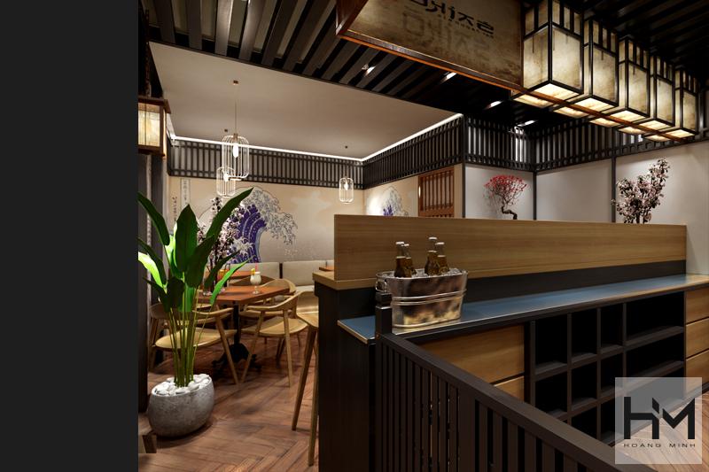 Thiết kế Bar Nhật