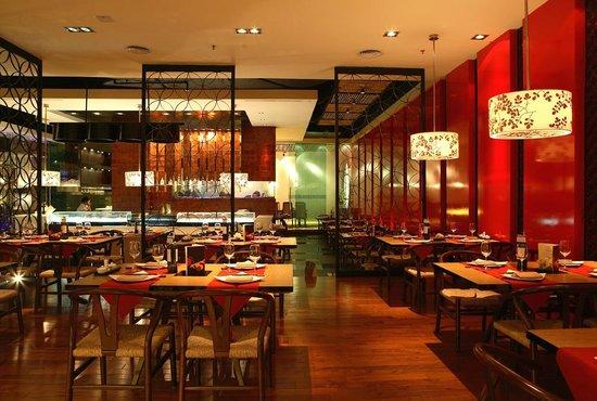 Thiết kế thi công nội thất nhà hàng hải sản dịch vụ ưu đãi