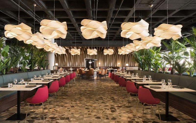 Các mẫu thiết kế thi công nội thất nhà hàng sân vườn dịch vụ chuyên nghiệp