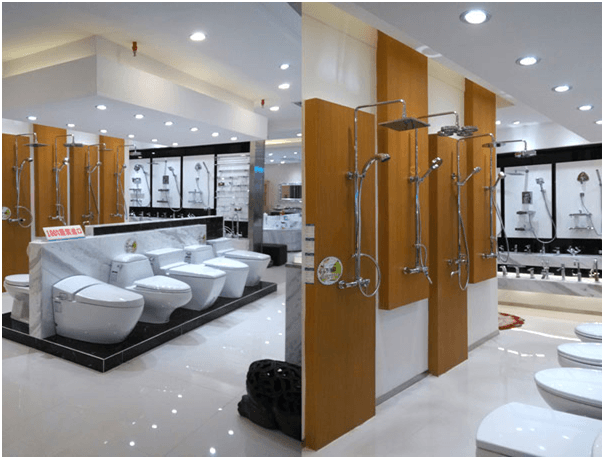 thiet ke showroom