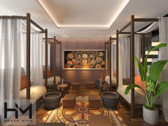 Báo giá thiết kế nội thất spa chuẩn quốc tế