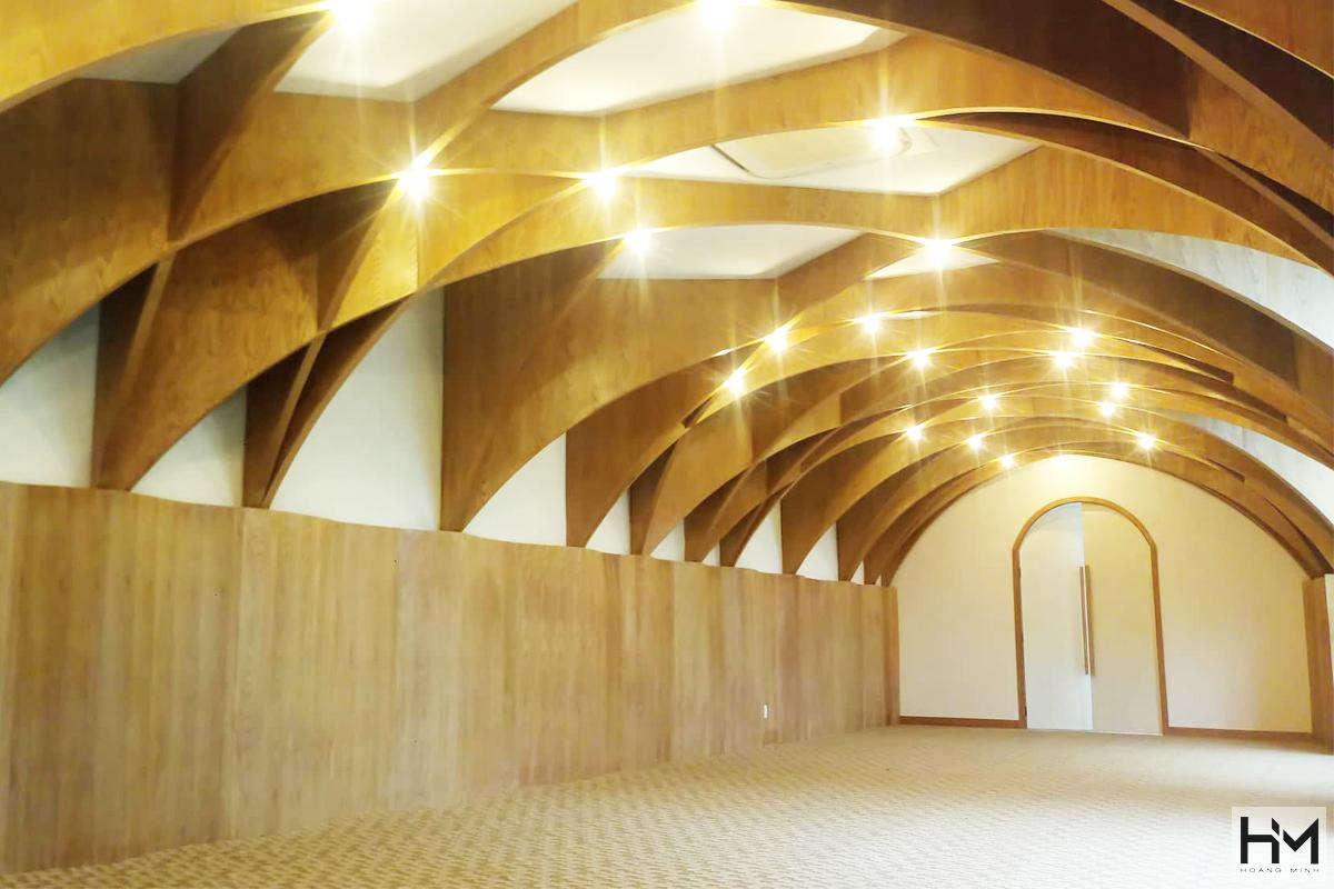 Đơn vị thiết kế không gian nhà hàng tiệc cưới nổi bật