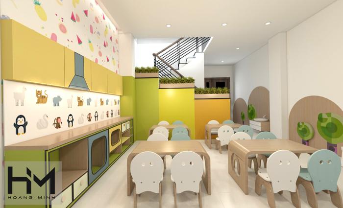 Thiết kế trường mầm non Thỏ Ngọc