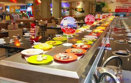Top 10 nhà hàng lẩu băng chuyền TPHCM