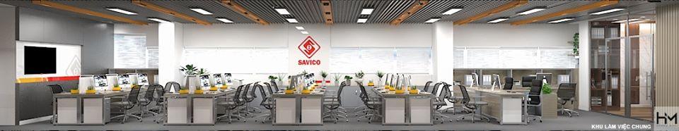 thiet ke van phong SAVICO