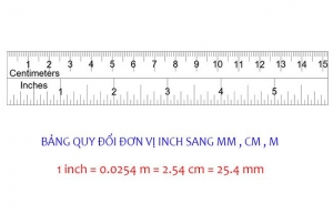 1 cm bằng bao nhiêu mm
