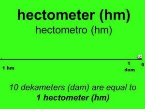 1 hectomet
