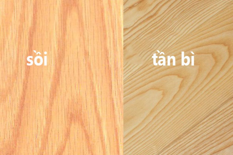 Vân gỗ tần bì
