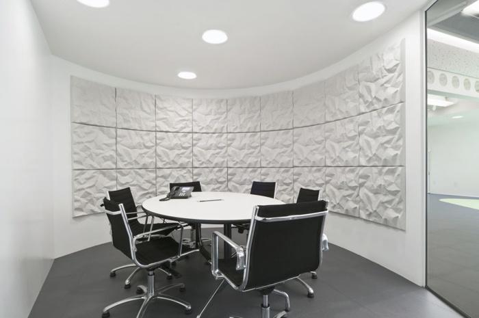 Giá thi công không gian văn phòng làm việc ấn tượng
