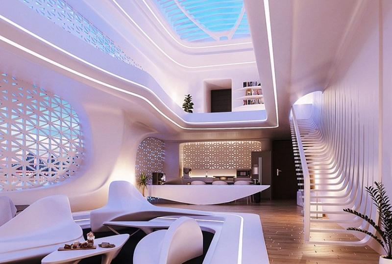 Phong cách thiết kế nội thất Organic - mộc mạc, thiên nhiên, đường cong
