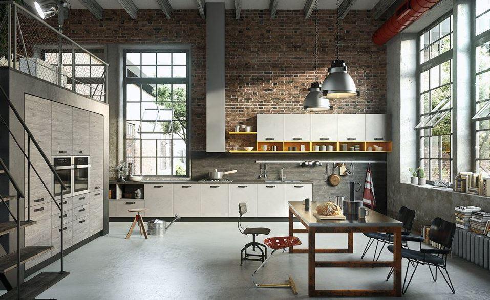 Phong cách thiết kế nội thất industrial - thô sơ, mộc mạc, cá tính