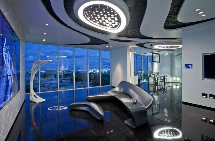 Phong cách thiết kế nội thất Hitech - đồ công nghệ tiên tiến