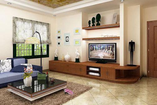 Cách trang trí nội thất phòng khách nhà cấp 4