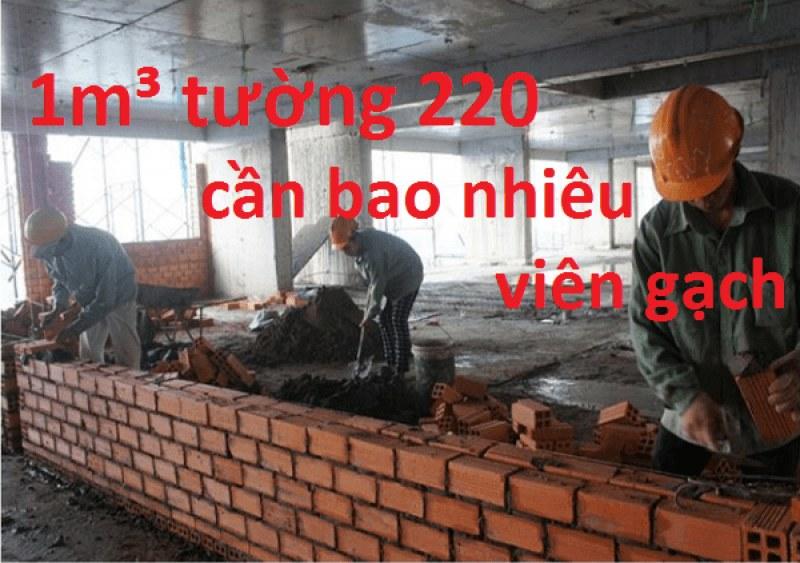 1m3 tuong xay gach