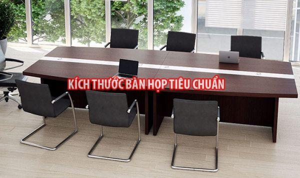 Tiêu chuẩn kích thước bàn họp văn phòng?