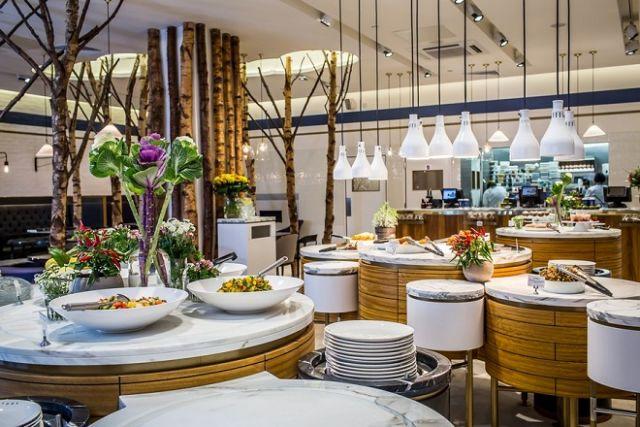 Xu hướng thiết kế thi công nội thất nhà hàng chay