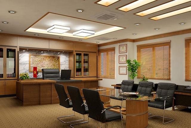 Giá trị thiết kế nội thất phòng giám đốc tiêu chí cao