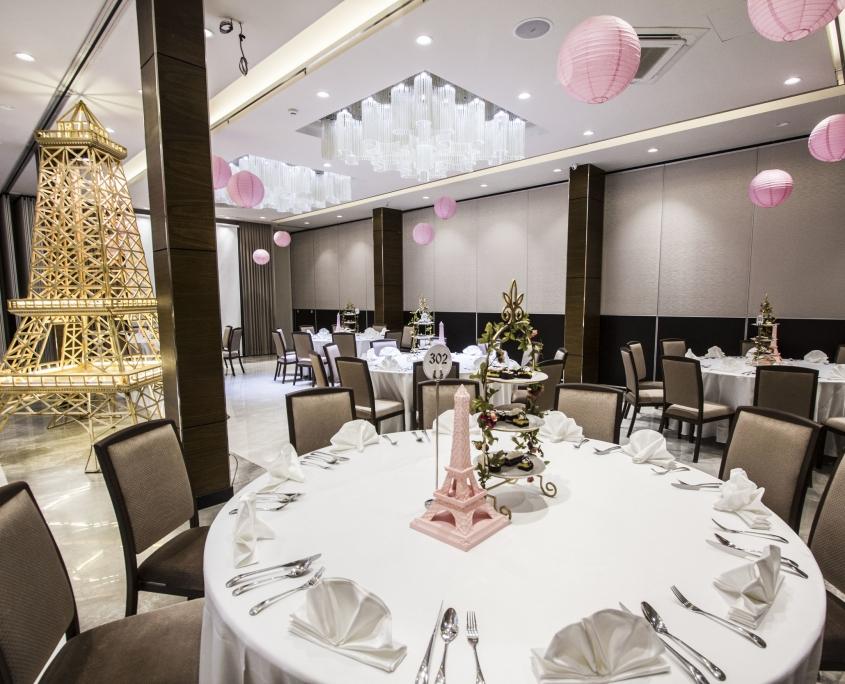 Xu hướng thiết kế thi công nội thất nhà hàng tiệc cưới