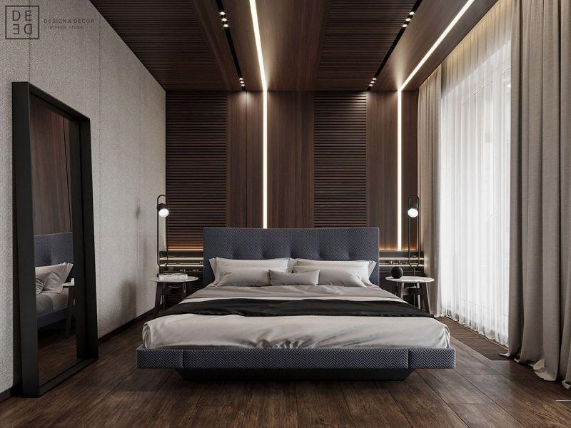 Thiết kế nội thất phòng ngủ đẹp, cao cấp, sang trọng