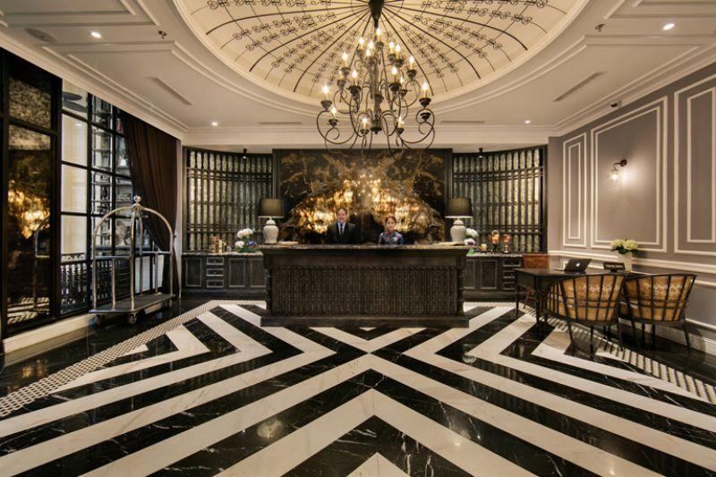 Tiêu chuẩn thiết kế sảnh khách sạn trọn gói hiện đại